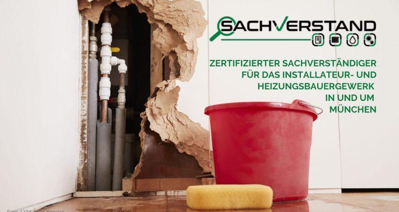 Zertifizierter Sachverständiger für das Installateur- und Heizungsbauergewerk in und um München