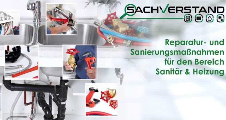 Beratung bei Reparatur- und Sanierungsmaßnahmen Sanitär & Heizung in und um München